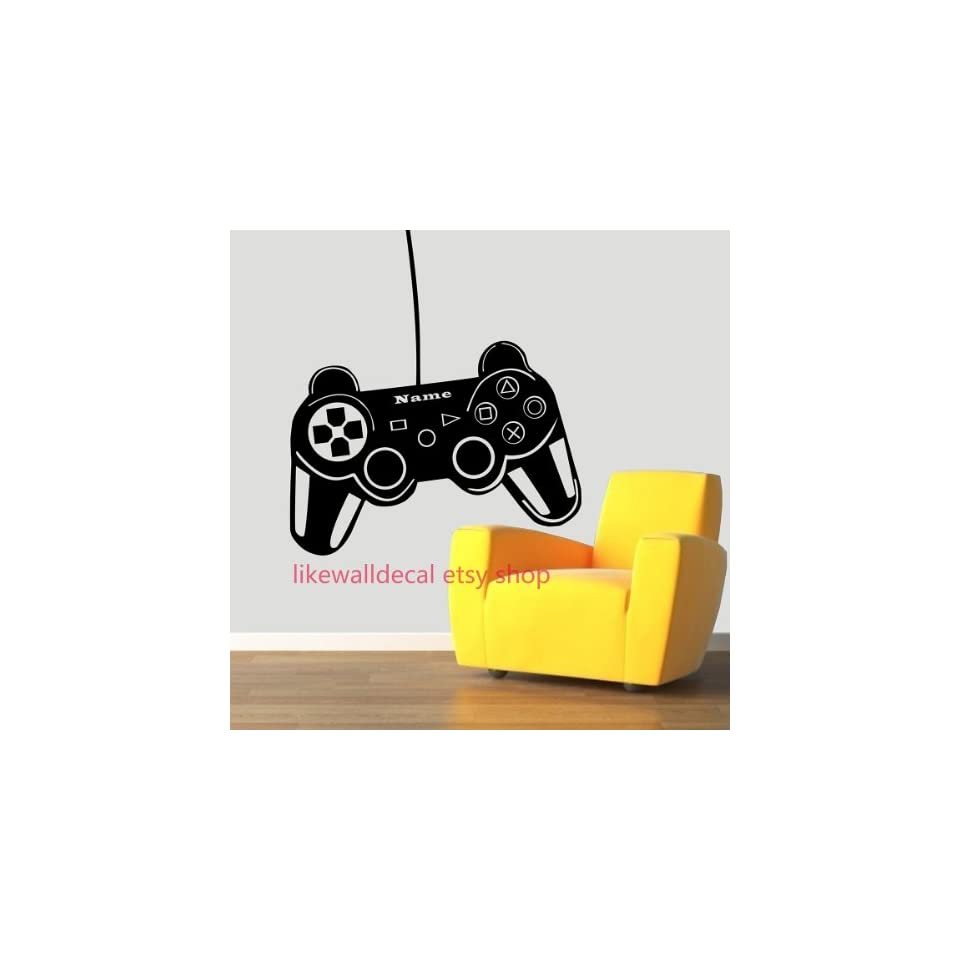 Ps3 Game Controller Modern Xbox Games Custom Name Art Decals Wall Sticker Vinyl Wall Decal Stickers Living Room Bed Removable Mural 585