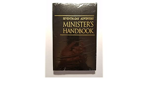 Seventh day adventist ministers handbook amazon books fandeluxe Image collections