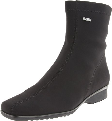 ara Women's Page Boot,Black Fabric,8.5 M US
