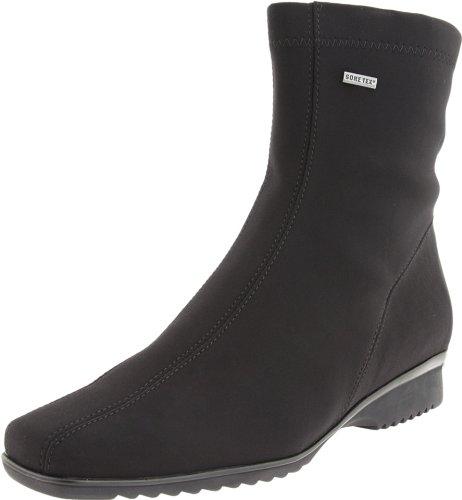 ara Women's Page Boot,Black Fabric,8 M US