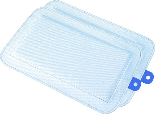 DryFur Pet Carrier Insert Pads size Small 19.5″ x 12.5″ Blue – 2 pack For Sale