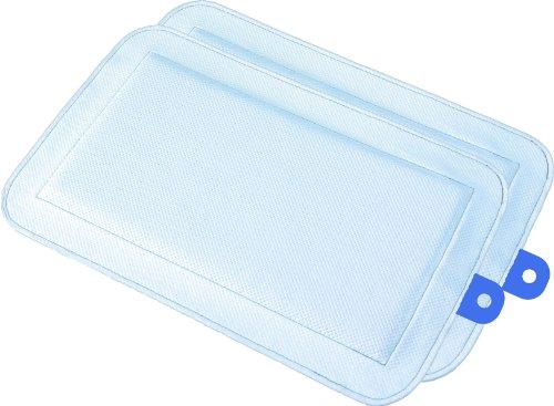 DryFur Pet Carrier Insert Pads size Small 19.5 x 12.5 Blue – 2 pack