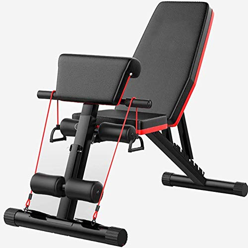 Adjustable Weight Bench,Roman Chair Hyperextension Workout Bench Press for Full Body Workout, Foldable Flat/Incline…