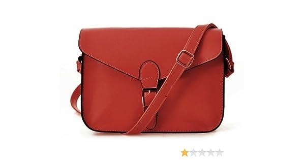 Amazon.com : Vintage Satchel Women Cross Body Leather ...