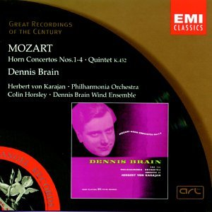 Karajan, Philharmonia Orchestra, Dennis Brain, Colin Horsley, Dennis