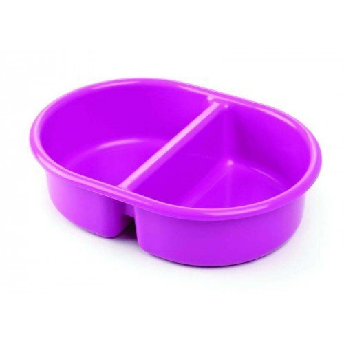 The Neat Nursery Company Oval Top N Tail Bowl PINK