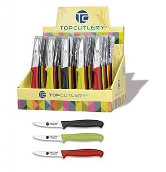 Top Cutlery - 17345 - Expositor 48 pzas. Cuchillos Mesa 7.5 ...
