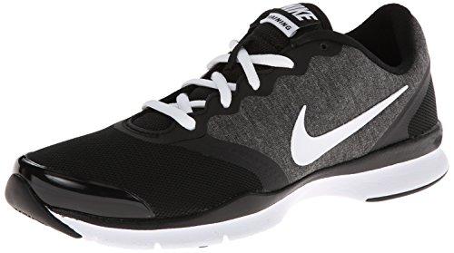 Femmes Nike En Saison Tr 6 Chaussure Dentraînement Croix Noire / Froid Gris / Blanc