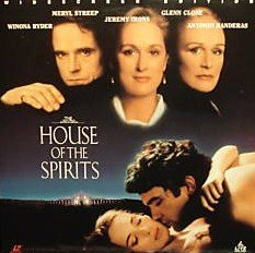 The House Of Spirits Laser Disc Movie (Laserdisc) from Laser Disc