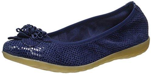 Ballerine Blu Caprice 22153 Reptile Donna Ocean T5Apw