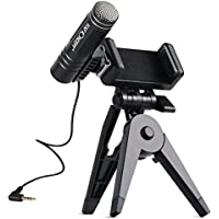 K&F Concept Cellphones Microphone Condenser NCR Noise Reduction Hands Free External USB Youtube Podcasting Mic
