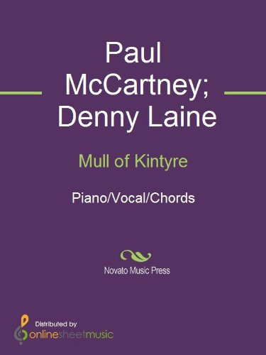 Mull Of Kintyre Kindle Edition By Paul Mccartney Denny Laine