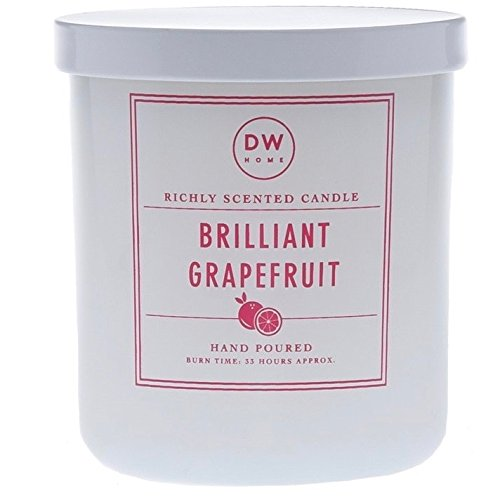 Pink Grapefruit Soy Candle - DW Home Brilliant Grapefruit Scented Soy Wax Blend Candle