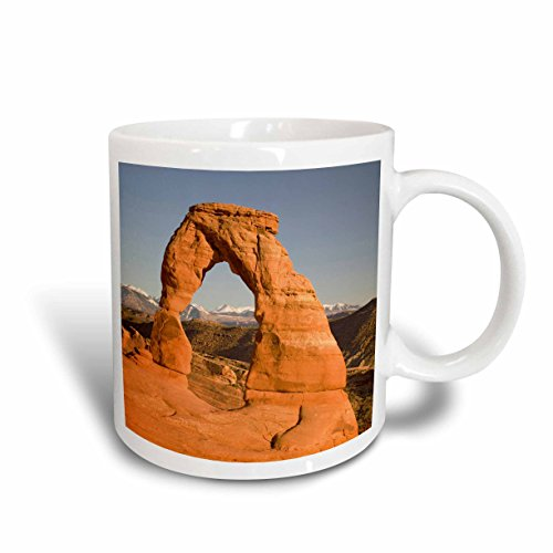 3dRose Utah/Arches Np/Delicate Arch US45 JWI0127 Jamie and Judy Wild Ceramic Mug, 11-Ounce (Utah Outlets)