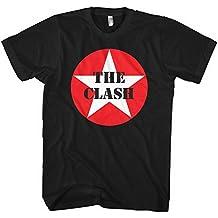 Clash Star Logo Men's T-Shirt, Black