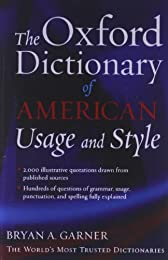 The Oxford Dictionary of American Usage and Style (Essential Resource Library)