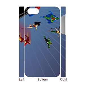 cartoons 4 iPhone 4 4s Cell Phone Case 3D White Customized Toy pxf005-7814221