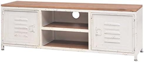 yorten - Mueble para TV (120 x 30 x 40 cm), Color Blanco: Amazon ...
