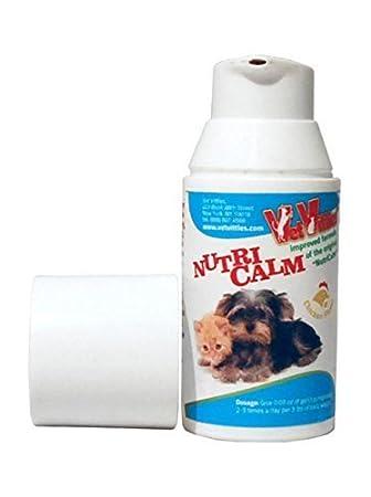 Perro mascota de vitaminas Suplemento herbal Nutri calma: Amazon.es: Productos para mascotas