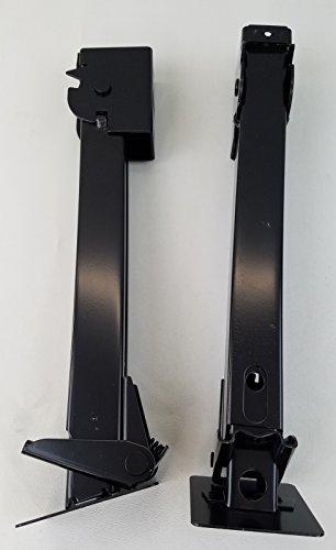 2 Telescoping Swing Down Trailer Jacks (1,000 pound cap.) ()