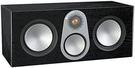 Monitor Audio Silver C350 Center Channel Speaker Black Oak