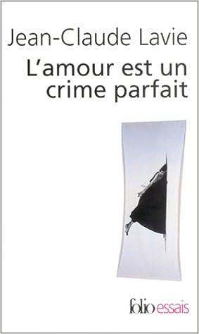 Livre gratuits en ligne L'amour est un crime parfait pdf, epub