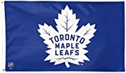 NHL Toronto Maple Leafs Banner Flag 3-Foot by 2-Foot, Coated Nylon Blue 60X90cm