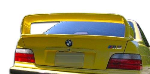 1992-1998 BMW 3 Series E36 2DR Duraflex LT-R Wing Trunk Lid Spoiler - 1 Piece