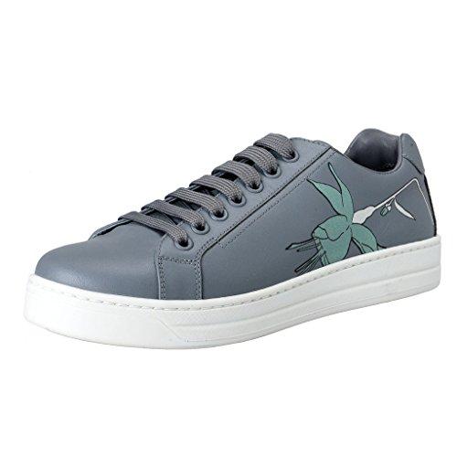 Prada Women's Gray Leather Fashion Sneakers B01KQLTO1I Shoes B01KQLTO1I Sneakers Shoes 8e886a