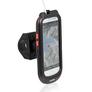 Wicked Chili Rain Case - Soporte de bicicleta para Samsung Galaxy S3 i9300 (Con apertura para auriculares, protección antisalpicaduras, rotación de 360 grados), negro