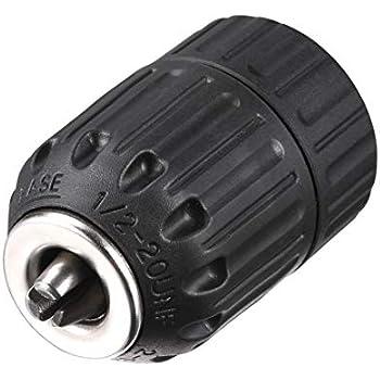 R/ÖHM Extra RV80 Keyless Chuck RV 80 1.5-13 mm Socket 1//2 Inch Metal
