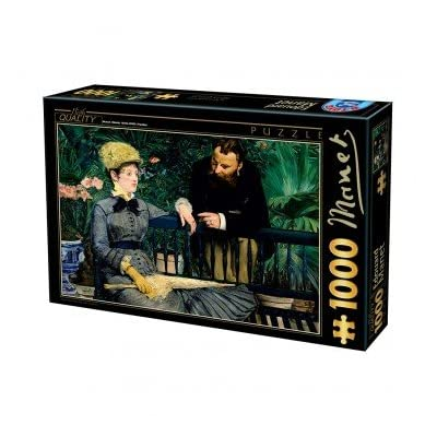 Puzzle 1000 Pz Manet In The Conservatory 68x47 Cm 03237 Giochi Giocattoli