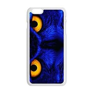 Blue owl aflame eyes Case for Iphone 6 wangjiang maoyi