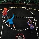 Basketball Court Stencil (SET)