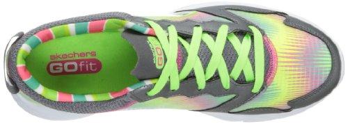 Skechers Go Fit Tempo - sandalias deportivas y para exterior de sintético mujer gris - Charcoal Green