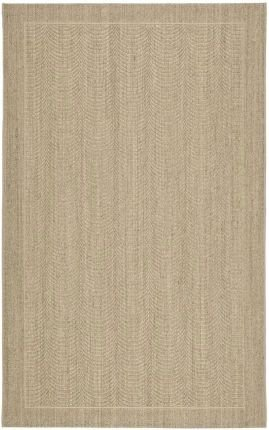 Sand 3x5 Area - Safavieh Palm Beach Collection PAB322A Desert Sand Sisal & Jute Area Rug (3' x 5')