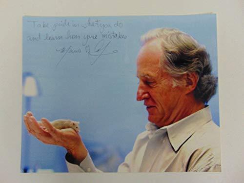 """""""Nobel Prize in Medicine"""" Mario Capecchi Hand Signed 10X8 Photo Todd Mueller COA from Unknown"""