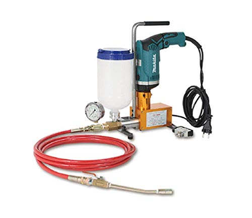 (CONREPAIR Injection Pump High Pessure Grouting Injection Pump for Epoxy Resin and Polyurethane Foam Electric Drill Operated (Makita Drill Model HP1630k &)