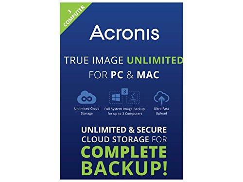 Acronis TIU3-18-MB-RT-WM-EN True Image Unlimited - 3 Computer