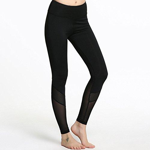 iBaste Yoga pantaloni fitness donna leggings elastiche elevate