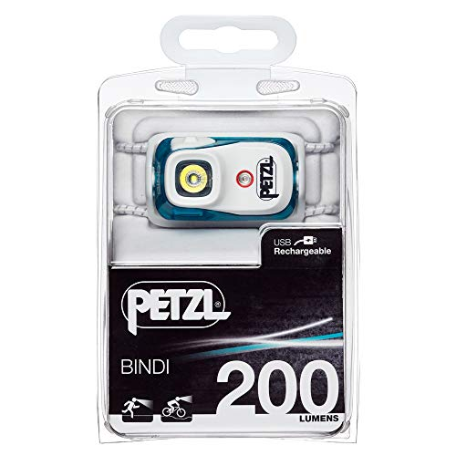 Petzl - BINDI, 200 Lumens, Ultralight, Rechargeable, and Compact Headlamp for Urban Running, Emerald by PETZL (Image #6)