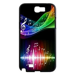 [MEIYING DIY CASE] For Samsung Galaxy Note 2 Case -Love Music Pattern-IKAI0446819