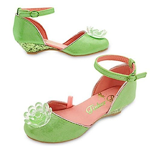 Tinkerbell Shoes Costume (Disney Store Tinkerbell Costume Shoes- Ankle Strap - 2016 (9/10))