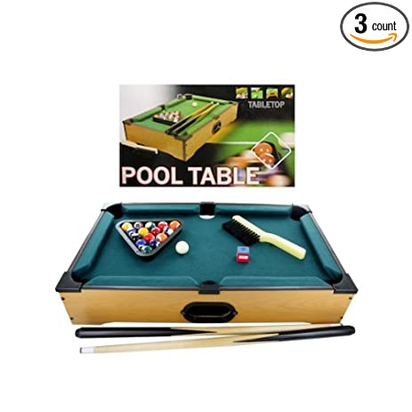 Amazoncom Tabletop Pool Table Case Of Sports Outdoors - Tabletop pool table full size