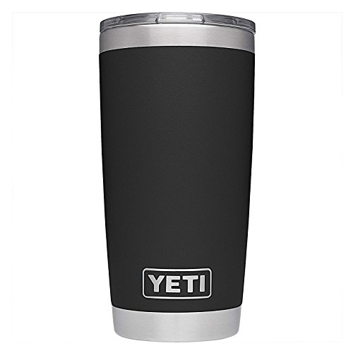 WELSAM Stainless Steel Rambler 20 oz Vacuum Insulated Tumbler with Lid Black by WELSAM