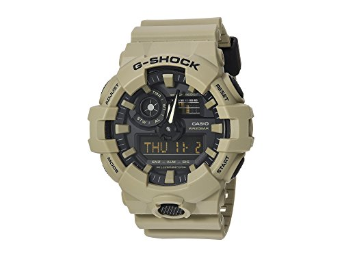 Used, Casio Men's 'G Shock' Quartz Resin Casual Watch, Color:Beige for sale  Delivered anywhere in USA