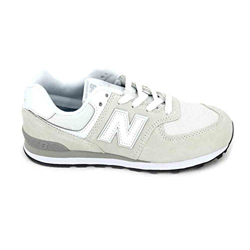 New Balance New Balance-PC574 Sintetico Adolescente-Unisex Blanco