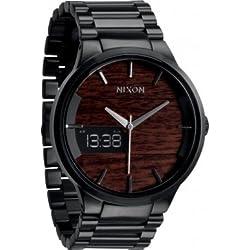 Nixon A113-2107 Mens Spencer Dark Wood Watch