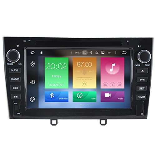 Autosion Android 8.0 Octa Core 64 Bit iNand 32GB 4GB RAM Car DVD Player GPS Stereo Head Unit Navi Radio WIFI for Peugeot 408 2010-2016 Peugeot 308 first generation T7 2007-2013