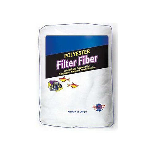 Blue Ribbon Pet Products ABLPLY10 Polyester Floss Bulk Filter Media, 10-Pound (Blue Ribbon Polyester Floss)